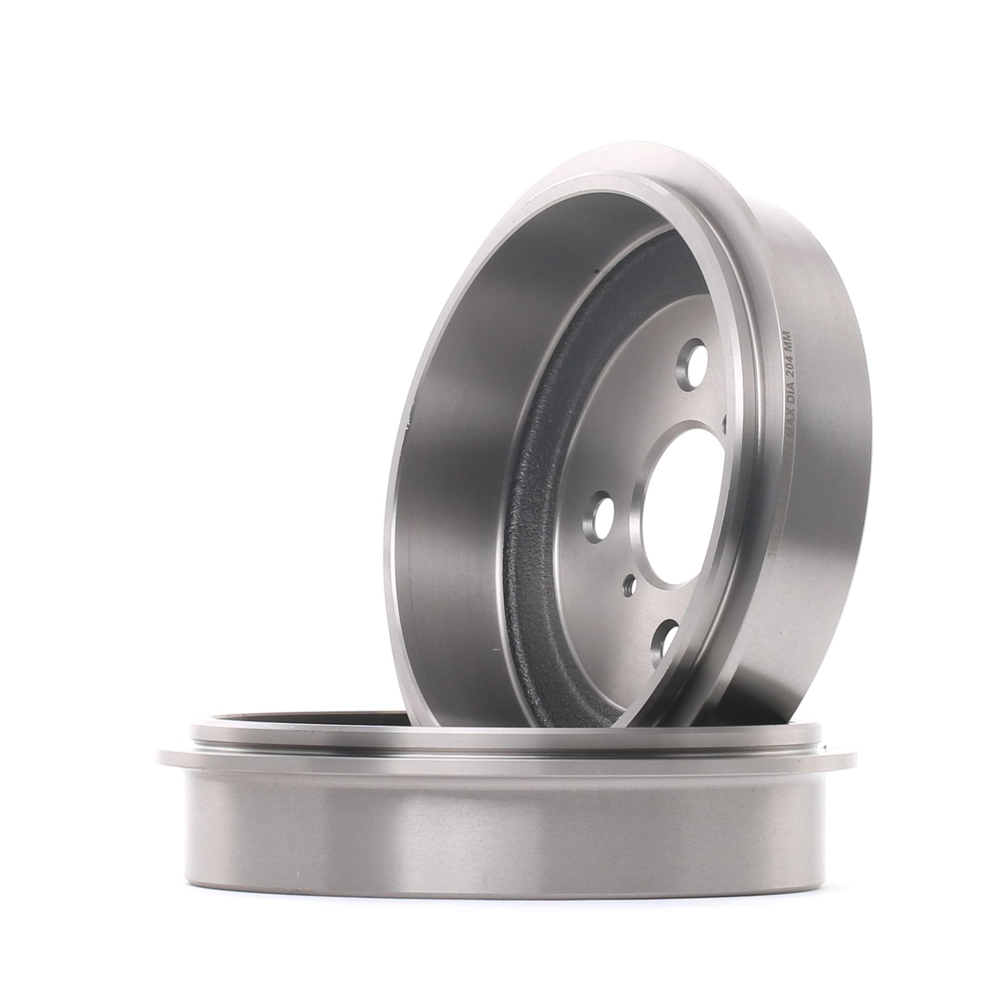 RIDEX: Original Bremsbelagsatz Trommelbremse 123B0158 ()