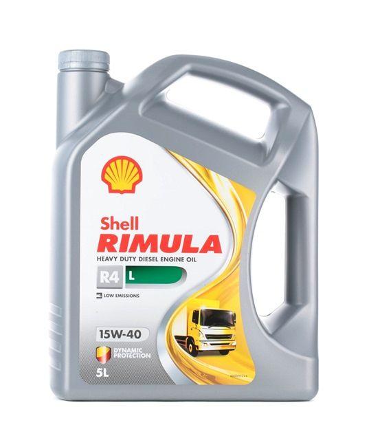 Original SHELL PKW Motoröl 5011987035461 15W-40, 5l, Mineralöl