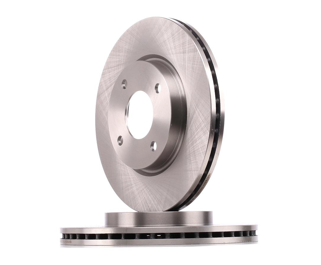 NISSAN VERSA 2021 Tuning - Original RIDEX 82B1256 Ø: 279,8mm, Ø: 279mm, Bremsscheibendicke: 24mm