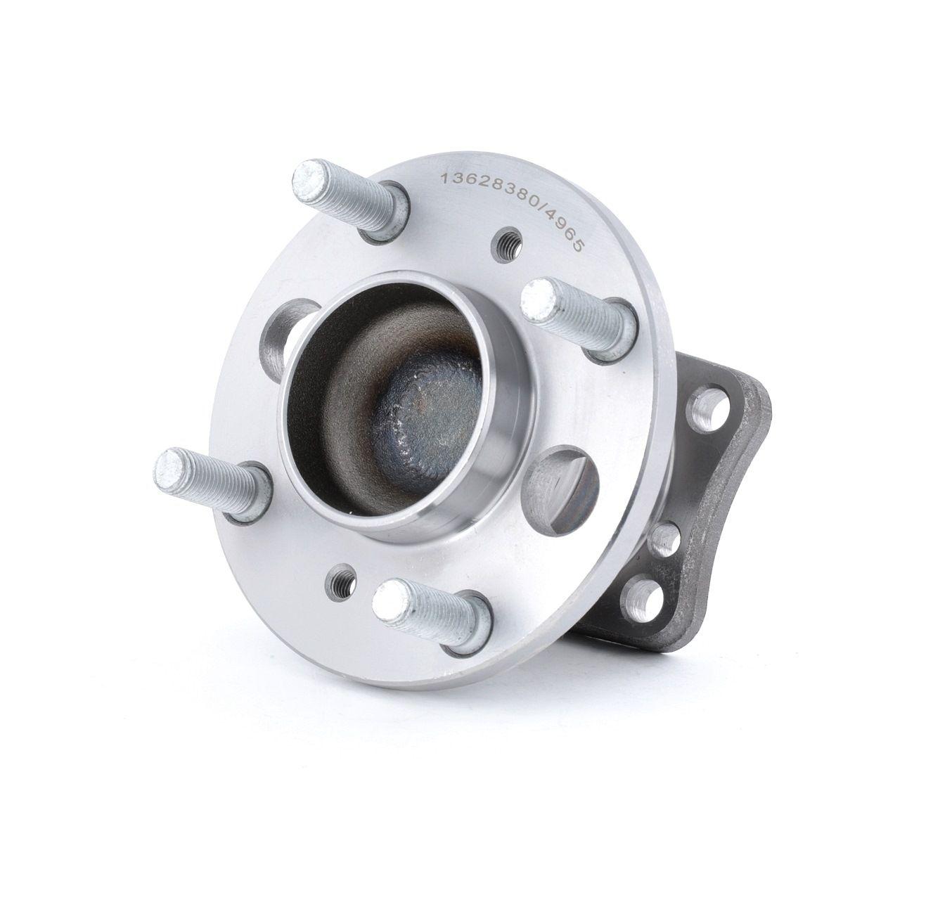 654W0644 RIDEX Hinterachse beidseitig, mit integriertem ABS-Sensor Radlagersatz 654W0644 günstig kaufen
