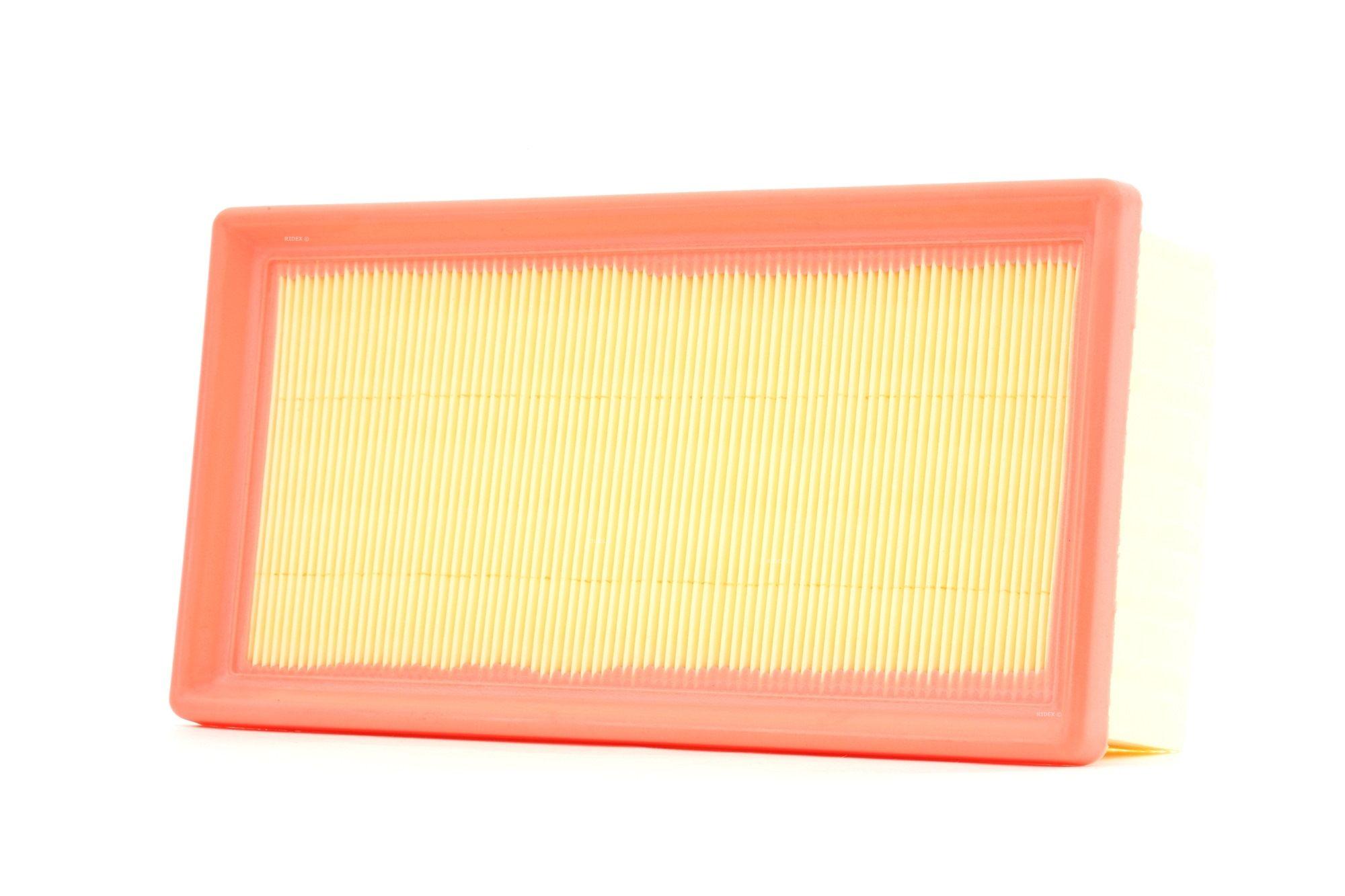 Zracni filter 8A0553 z izjemnim razmerjem med RIDEX ceno in zmogljivostjo