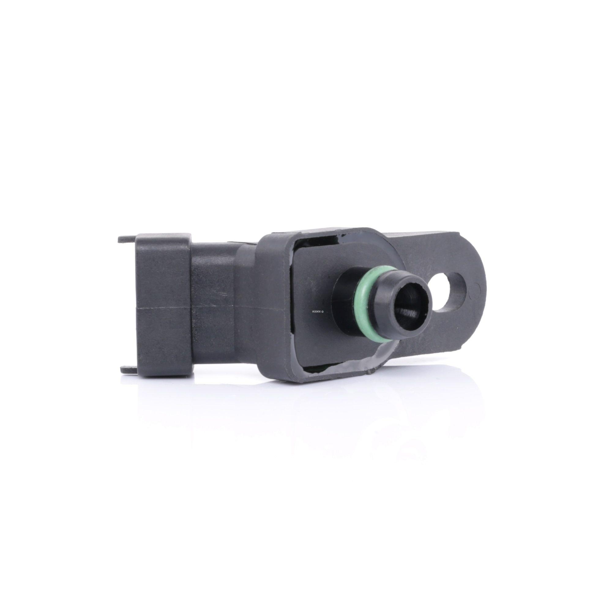 OPEL ASTRA 2021 Ladedrucksensor - Original RIDEX 161B0040 Pol-Anzahl: 3-polig