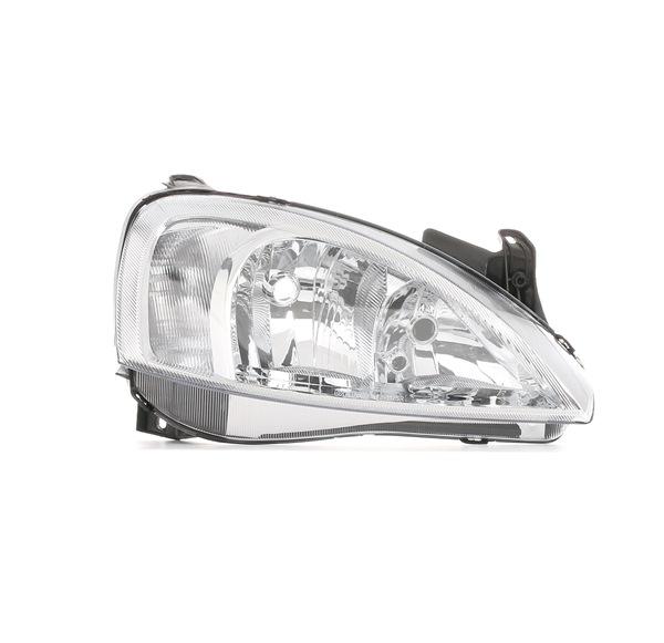 RIDEX: Original Hauptscheinwerfer 259H0054 (Links-/Rechtsverkehr: für Rechtsverkehr, Fahrzeugausstattung: für Fahrzeuge mit Leuchtweiteregelung (elektrisch))