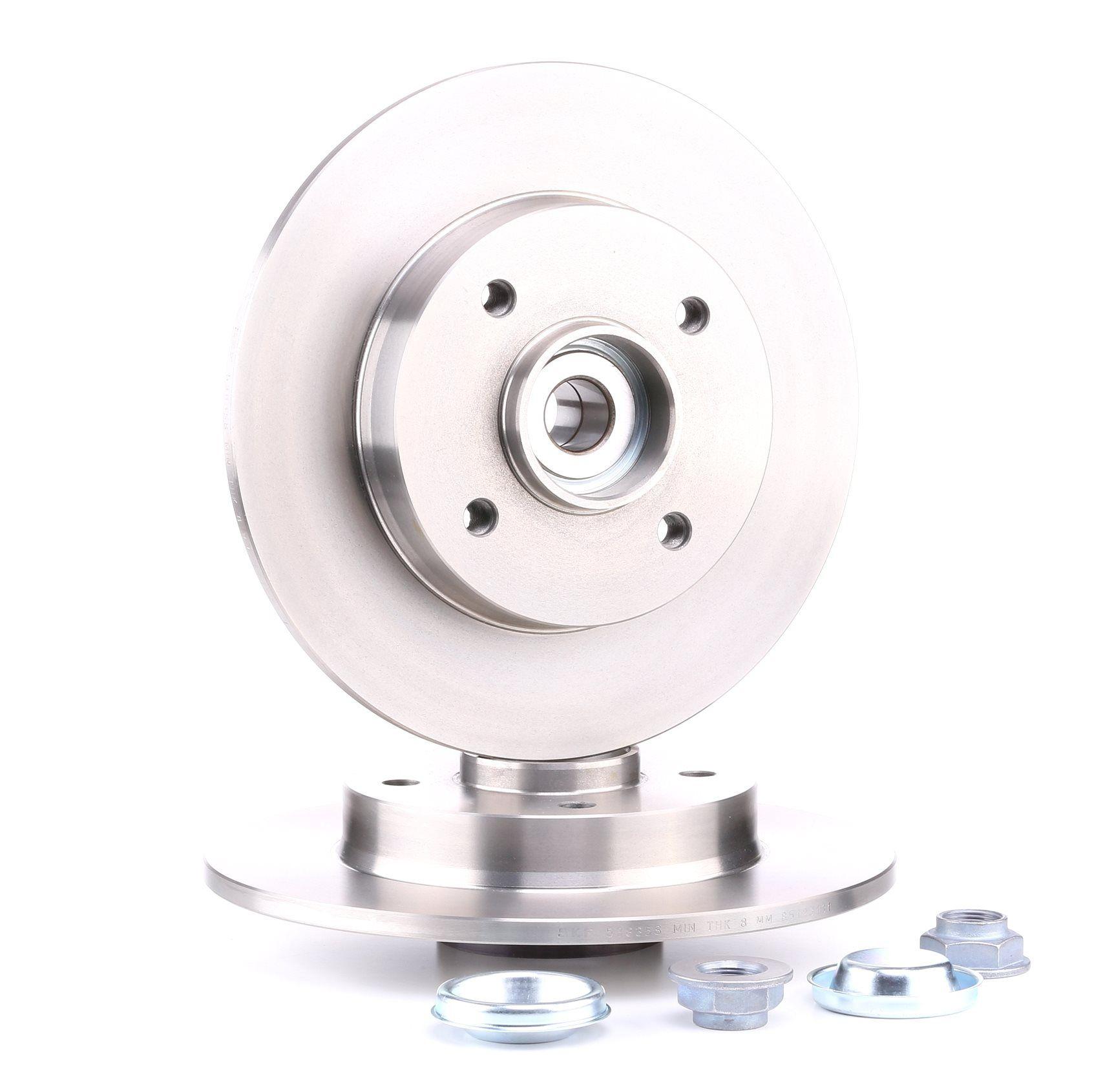 Achetez Disque de frein SKF VKBD 1011 (Ø: 249mm, Jante: 4Trou, Épaisseur du disque de frein: 9mm) à un rapport qualité-prix exceptionnel