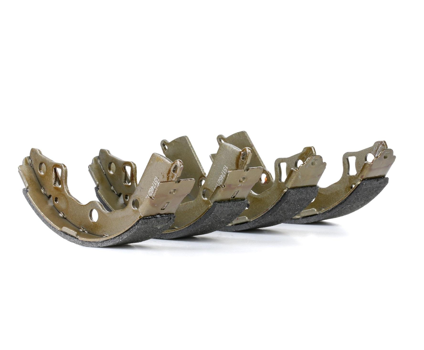 RIDEX: Original Bremsbeläge für Trommelbremsen 70B0284 (Breite: 31,5mm)