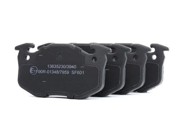 RIDEX 402B1077 : Kit de plaquettes de frein pour Twingo c06 1.2 2006 58 CH à un prix avantageux