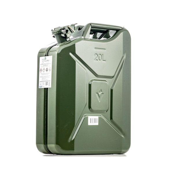 VALPRO F-2200 Kraftstoffkanister Metall, Volumen: 20l reduzierte Preise - Jetzt bestellen!