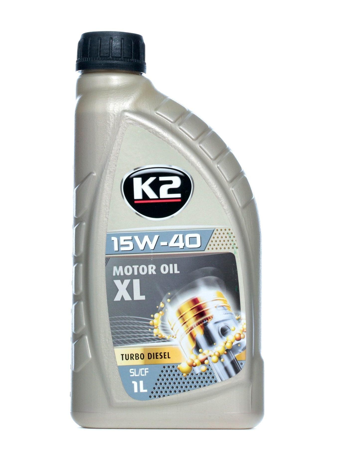 Motorový olej O14D0001 s vynikajícím poměrem mezi cenou a K2 kvalitou
