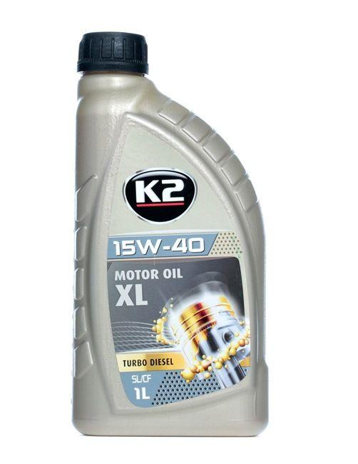 O14D0001 K2 TEXAR, TURBO DIESEL 15W-40, 1l, Mineralöl Motoröl O14D0001 günstig kaufen