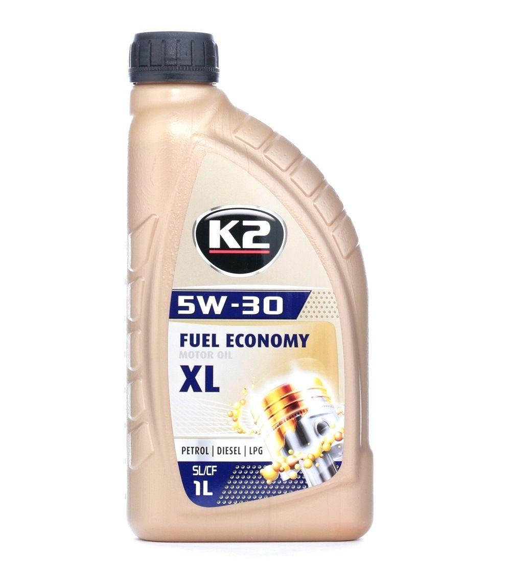 O33B0001 K2 TEXAR, FUEL ECONOMY 5W-30, 1l, Teilsynthetiköl Motoröl O33B0001 günstig kaufen