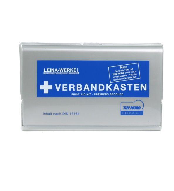REF 10101 Førstehjælpstaske Das Set beinhaltet: Førstehjælpssæt til bilen fra LEINA-WERKE til lave priser - køb nu!