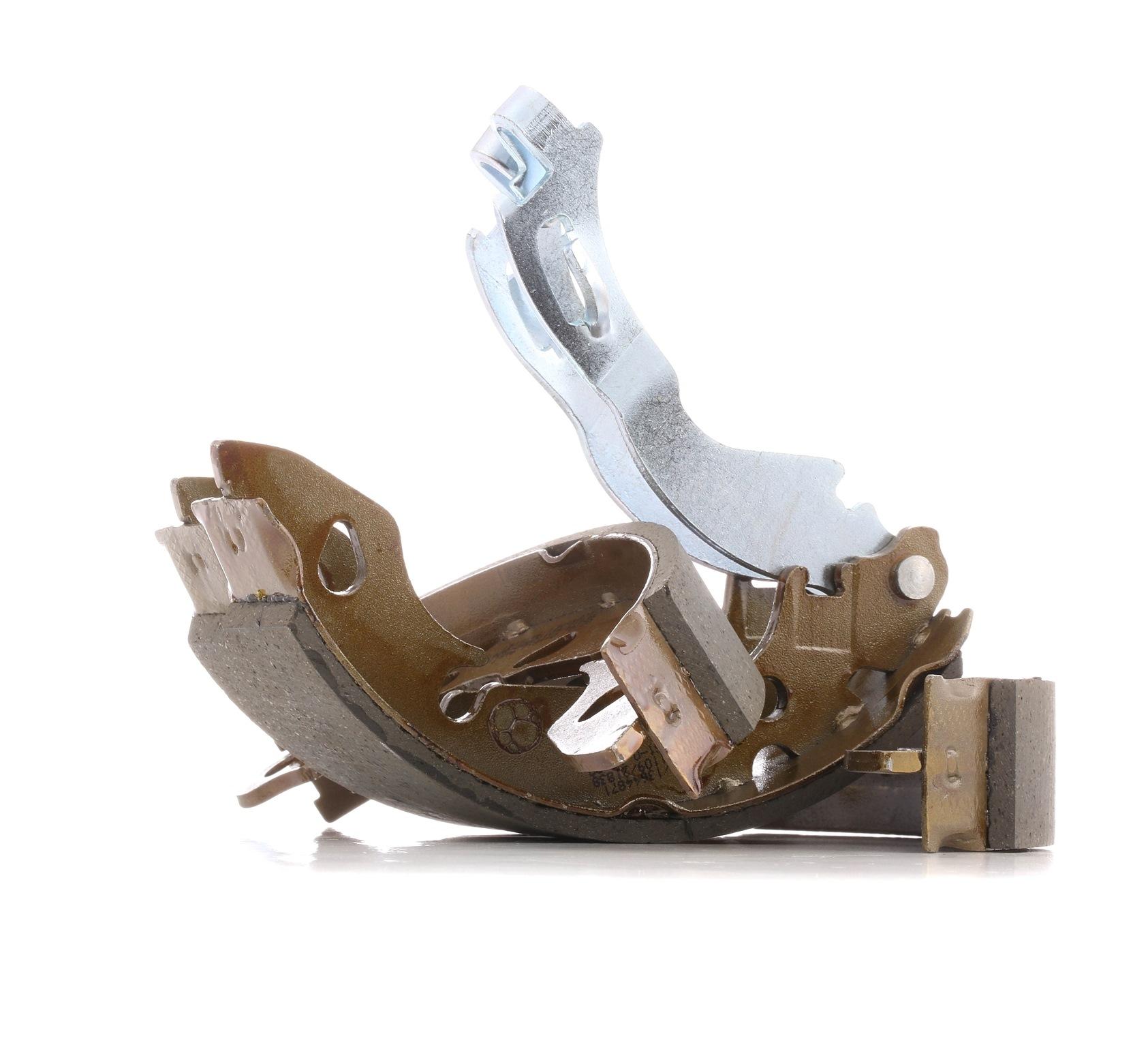 FORD KA 2020 Bremsbeläge für Trommelbremsen - Original RIDEX 70B0349 Breite: 30,0mm
