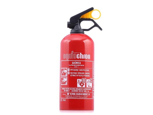 OGNIOCHRON GP1Z BC 1KG Auto-Feuerlöscher 1,5kg, Pulver, 1kg, Zeitbereich: 6 sek niedrige Preise - Jetzt kaufen!