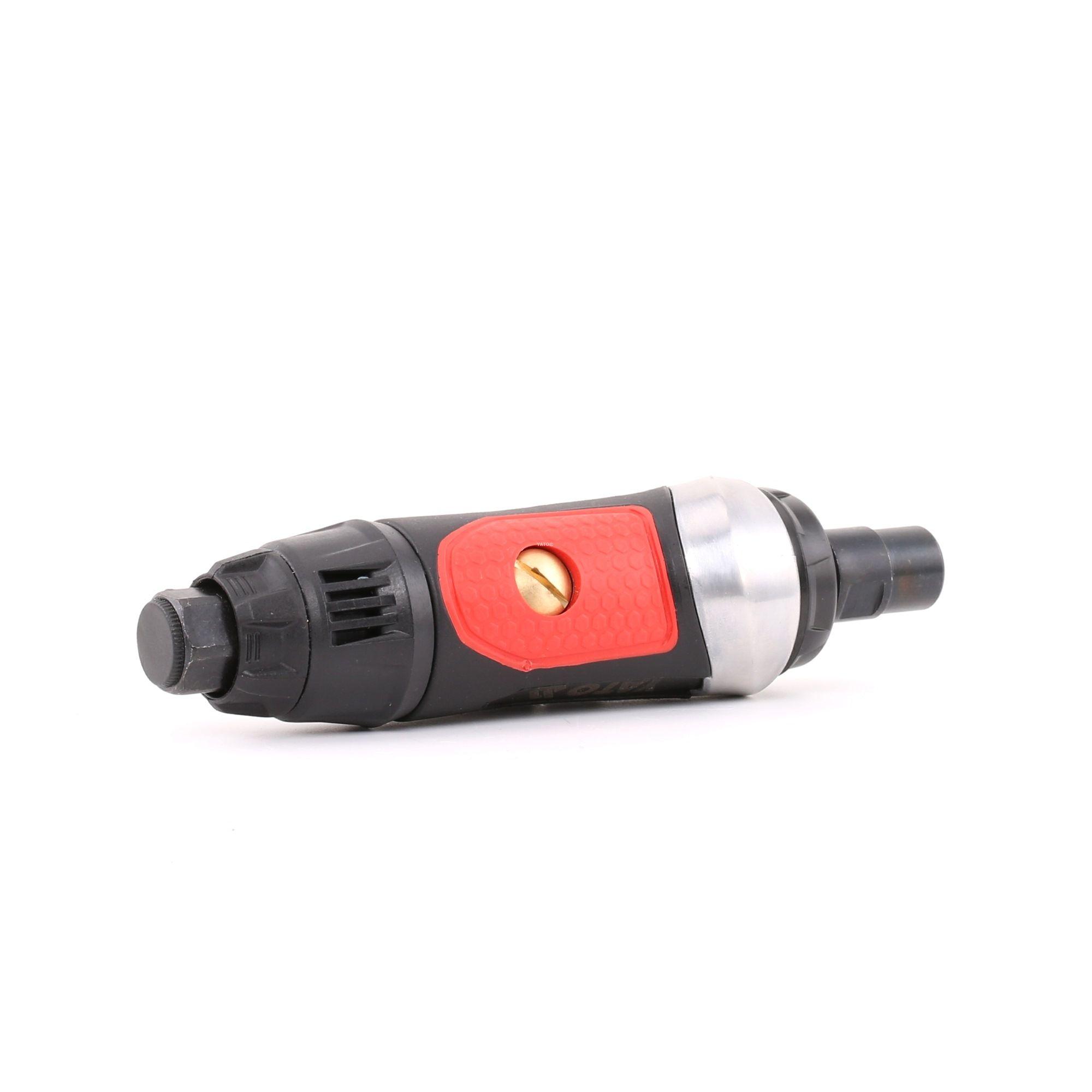 YT-09632 YATO pneumatisch, Betriebsdruck: 6,3bar, Drehzahl bis: 25 0001/min Stabschleifer YT-09632 günstig kaufen