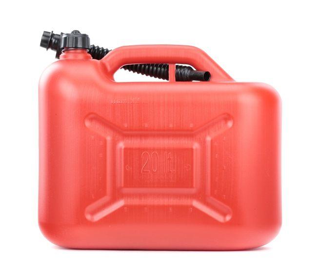 CARCOMMERCE 61600 Kraftstoffkanister Kunststoff, Volumen: 20l reduzierte Preise - Jetzt bestellen!