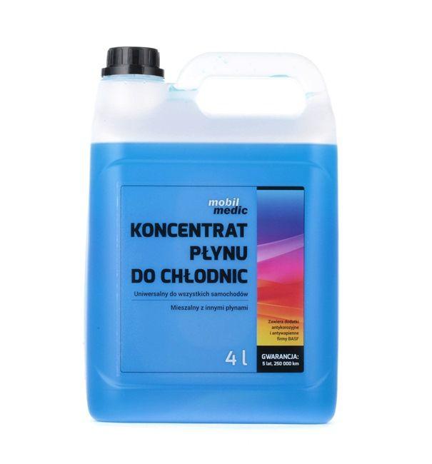 MOBIL MEDIC Antifreeze Blue, Capacity: 4l GMCOK4B
