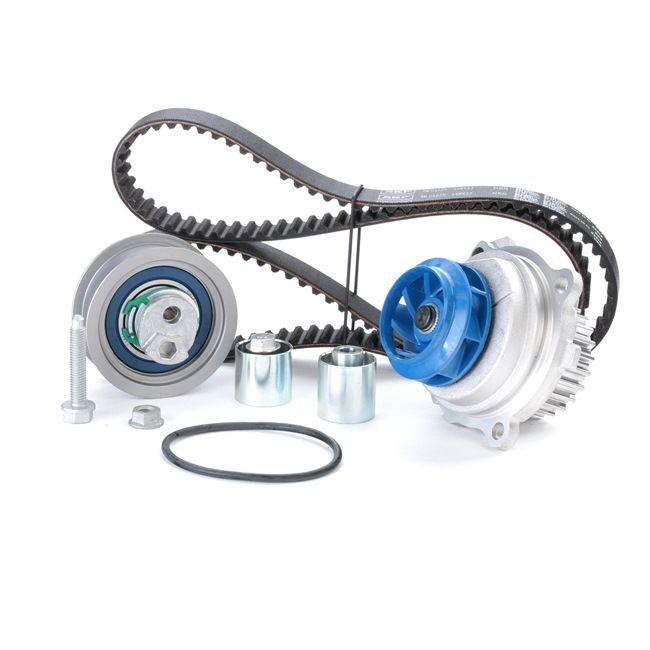 SKF Vandens siurblio ir paskirstymo diržo komplektas VKMC 01222-1