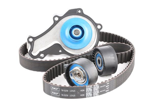 buy SKF Water Pump & Timing Belt Set VKMC 03259 at any time