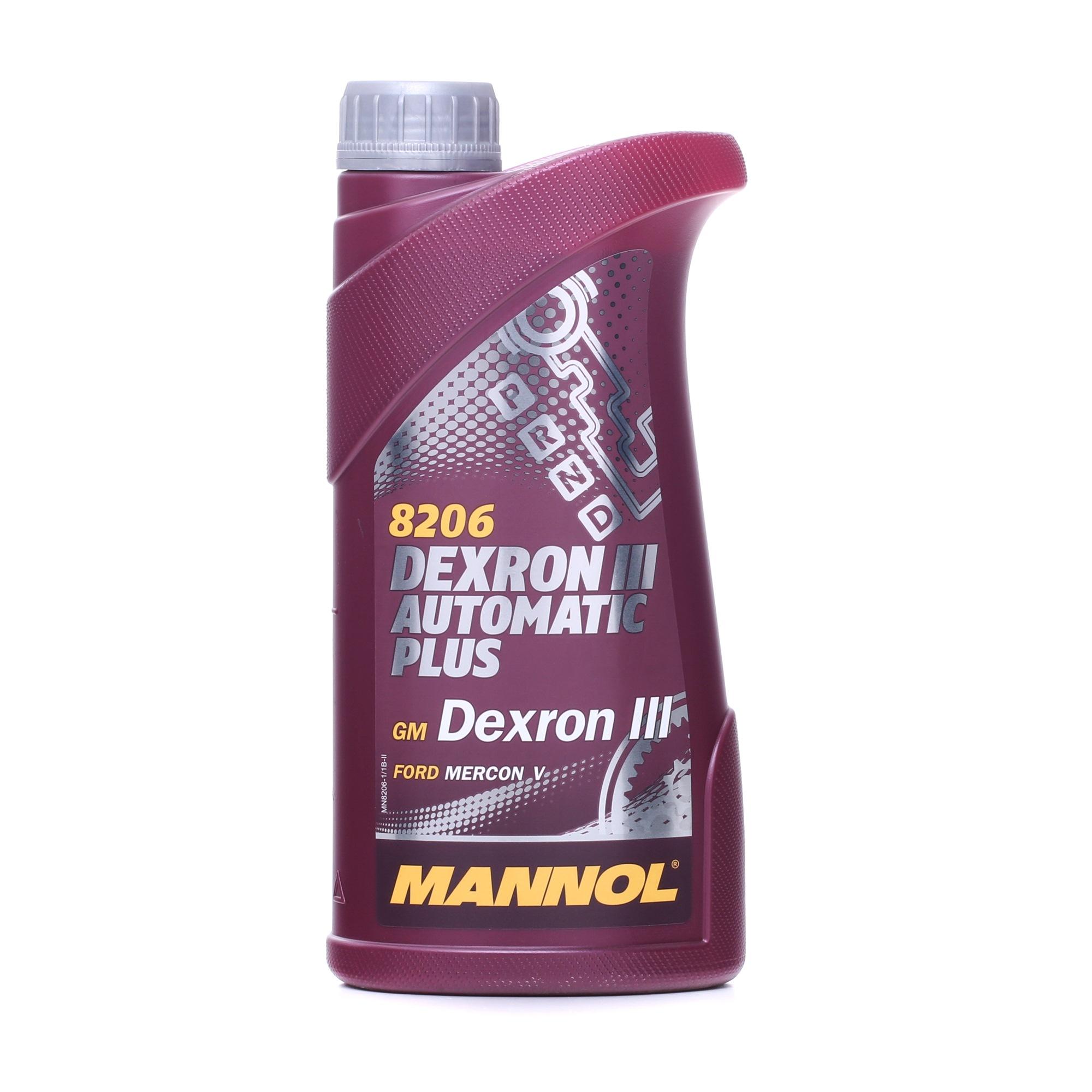 Greičių dėžės alyva MN8206-1 su puikiu MANNOL kainos/kokybės santykiu