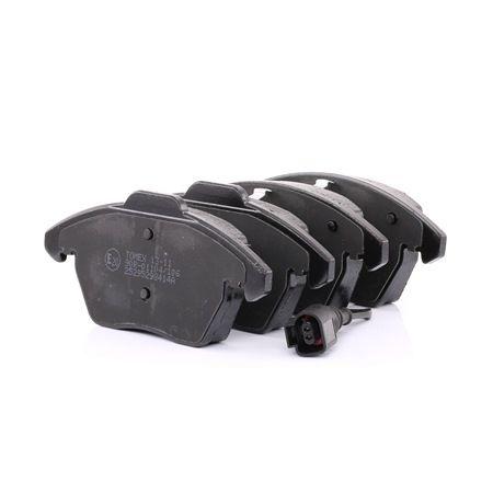 Bremsbelagsatz, Scheibenbremse TX 13-11 — aktuelle Top OE 3C0698151 Ersatzteile-Angebote