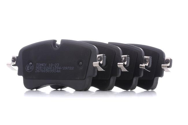 Bremsbelagsatz, Scheibenbremse TX 18-23 — aktuelle Top OE 8W0698451F Ersatzteile-Angebote