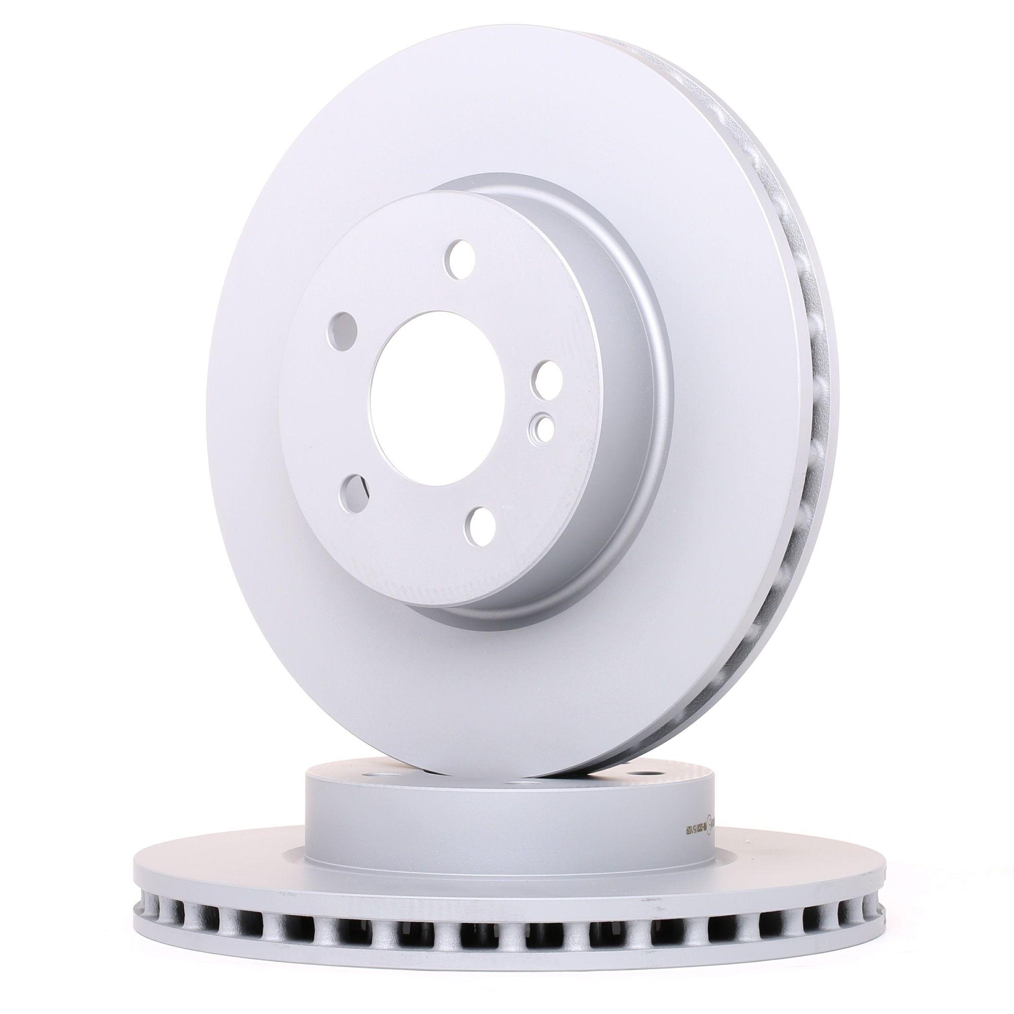 Set dischi freni 24.0128-0330.1 con un ottimo rapporto ATE qualità/prezzo
