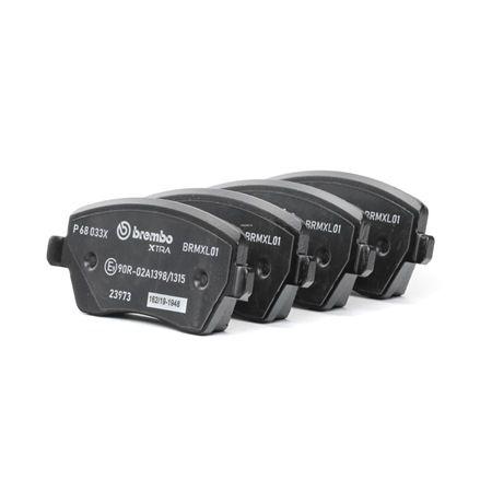 Bremsbelagsatz, Scheibenbremse P 68 033X — aktuelle Top OE 8660004726 Ersatzteile-Angebote