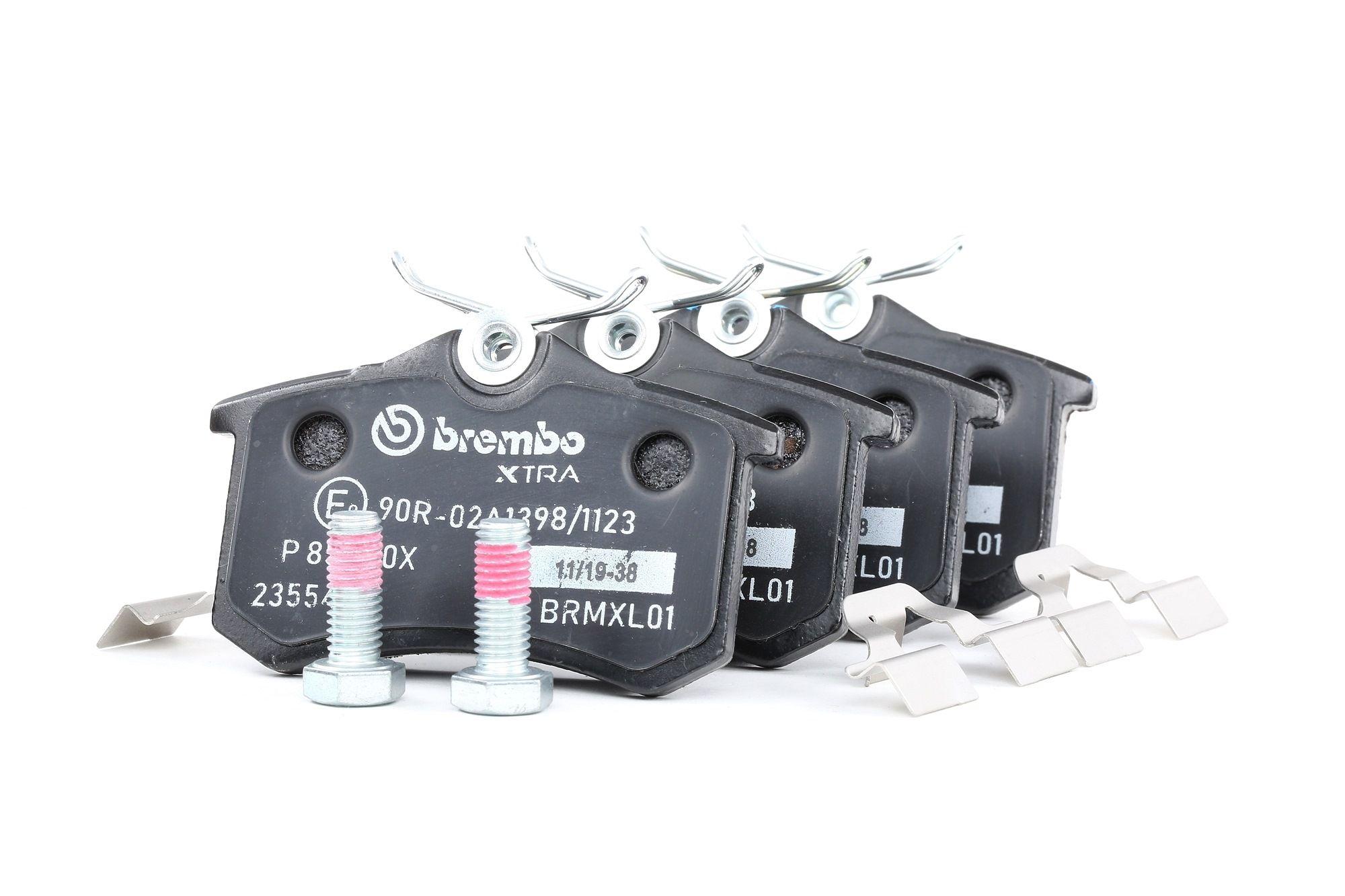 Scheibenbremsbeläge BREMBO P 85 020X