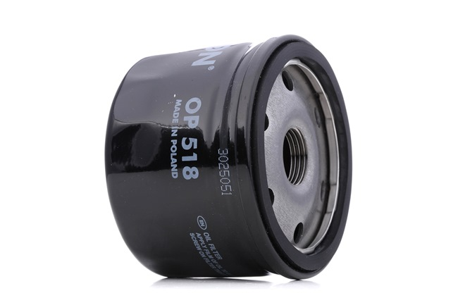 FILTRON OP 518 (Diamètre intérieur 2: 71mm, 69,5mm, Diamètre intérieur 2: 62mm, Ø: 76,5mm, Hauteur: 56mm) : Filtre à huile RENAULT 6 1982