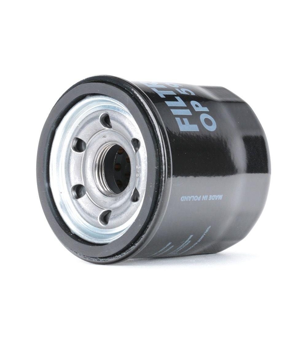OP 595 FILTRON Anschraubfilter, mit einem Rücklaufsperrventil Innendurchmesser 2: 64mm, Innendurchmesser 2: 56mm, Ø: 69mm, Höhe: 66,5mm Ölfilter OP 595 günstig kaufen