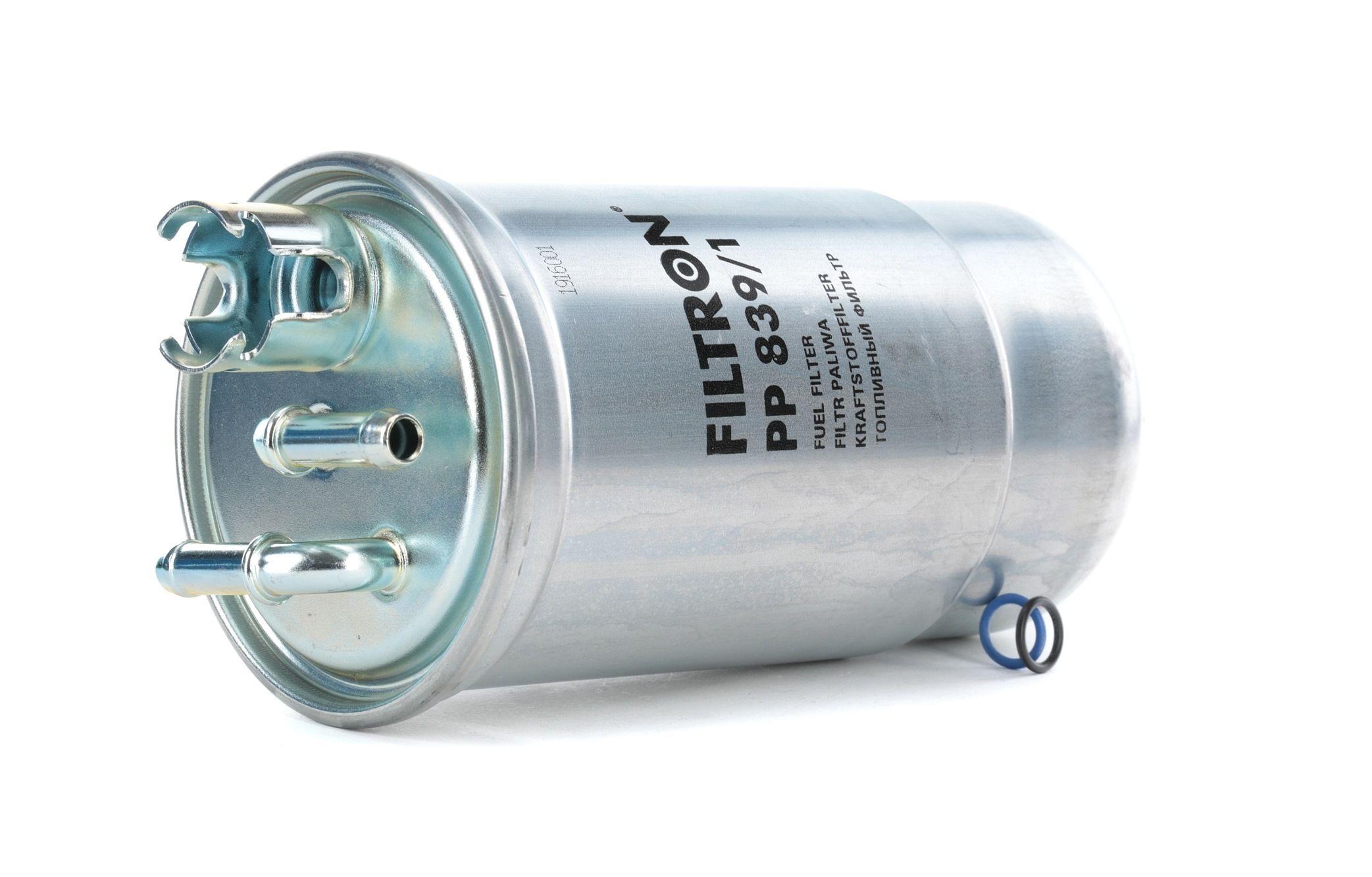 Skoda SUPERB FILTRON Palivový filtr PP 839/1