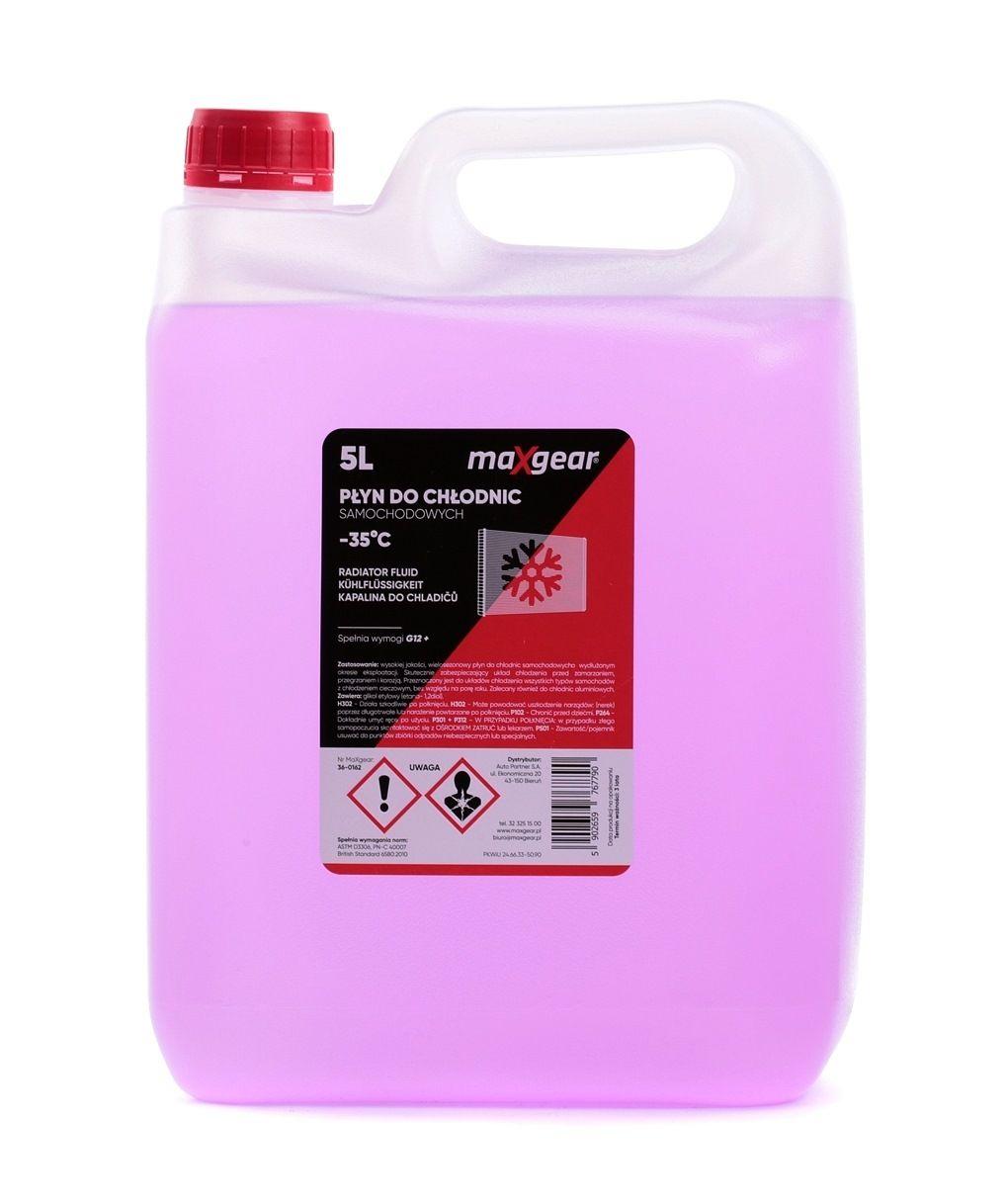 36-0162 MAXGEAR violett, Inhalt: 5l Ford WSS-M97B44-D, G 12 Plus, MB 325.3, VW TL 774 F Frostschutz 36-0162 günstig kaufen