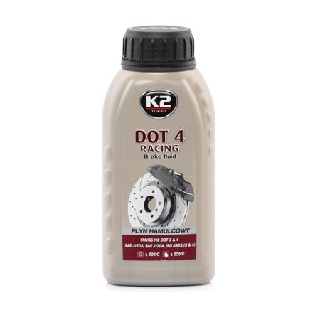 K2 DOT4 RACING, DOT 4 Brake Fluid T126