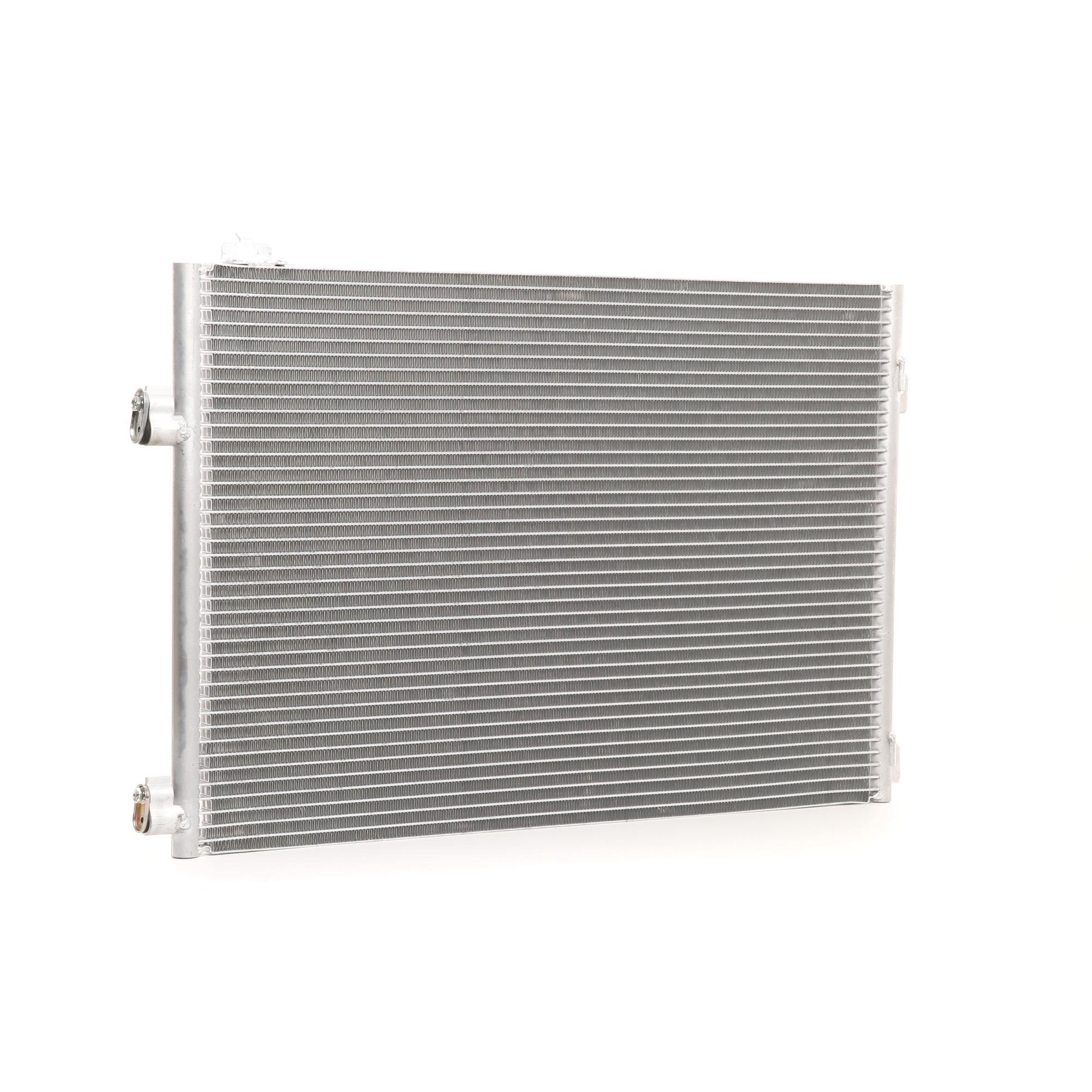 RENAULT 16 Kondensator Klimaanlage - Original RIDEX 448C0247 Netzmaße: 625 x 405 x 16 mm