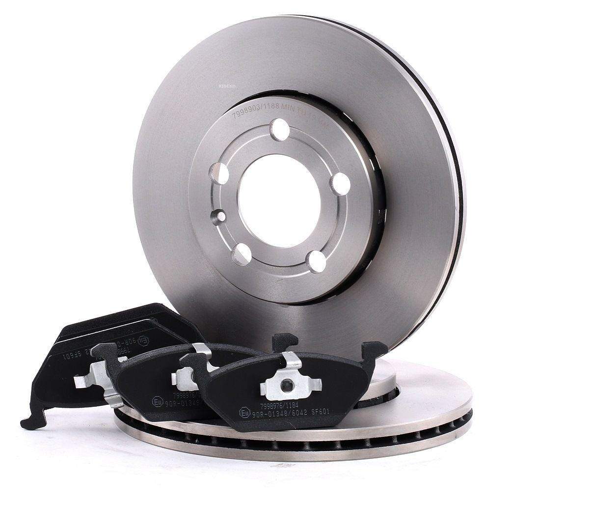 RIDEX: Original Bremsscheiben und Bremsbeläge 3405B0317 ()