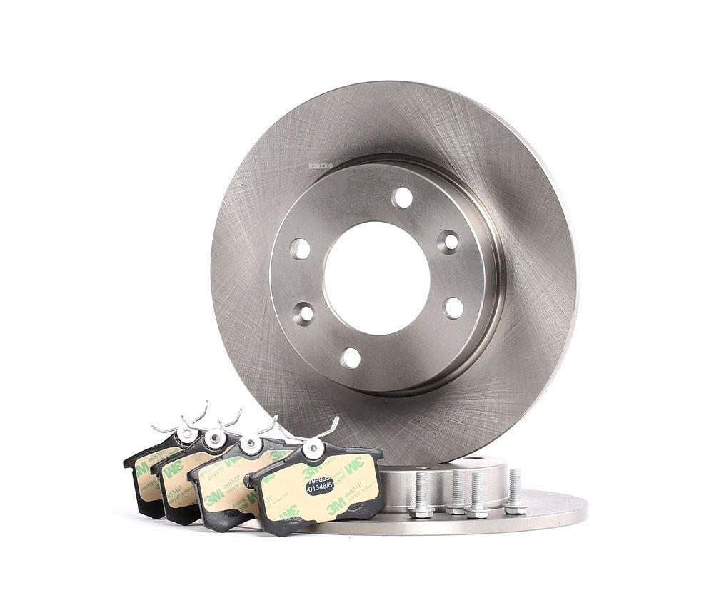 Acheter Plaquette et disque de freins RIDEX 3405B0372 à tout moment