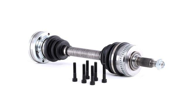 GSP: Original Gelenkwelle 235002 (Länge: 531mm, Außenverz.Radseite: 27, Zähnez. ABS-Ring: 48)