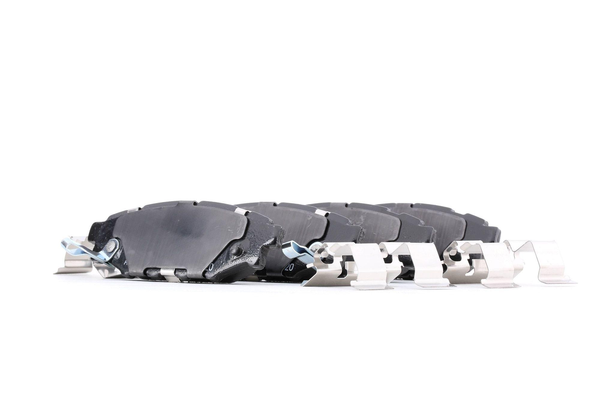 SUBARU LEGACY 2014 Bremsbelagsatz - Original ATE 13.0460-5669.2 Höhe: 37,4mm, Breite: 110,4mm, Dicke/Stärke: 13,9mm