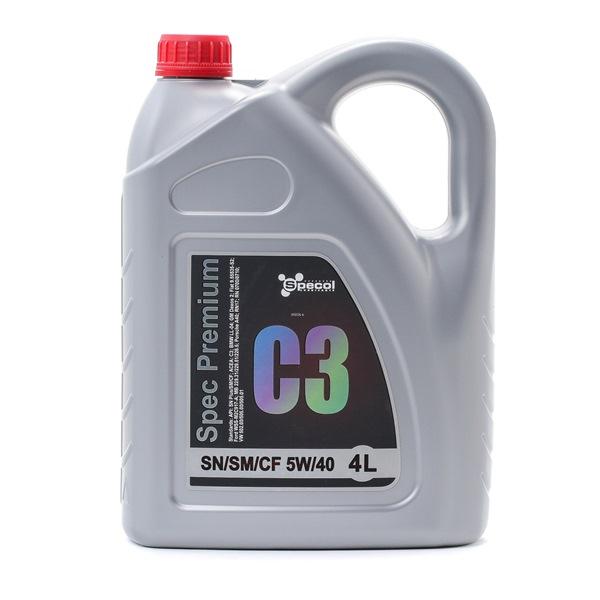 Qualitäts Öl von SPECOL 5902311100385 5W-40, 4l