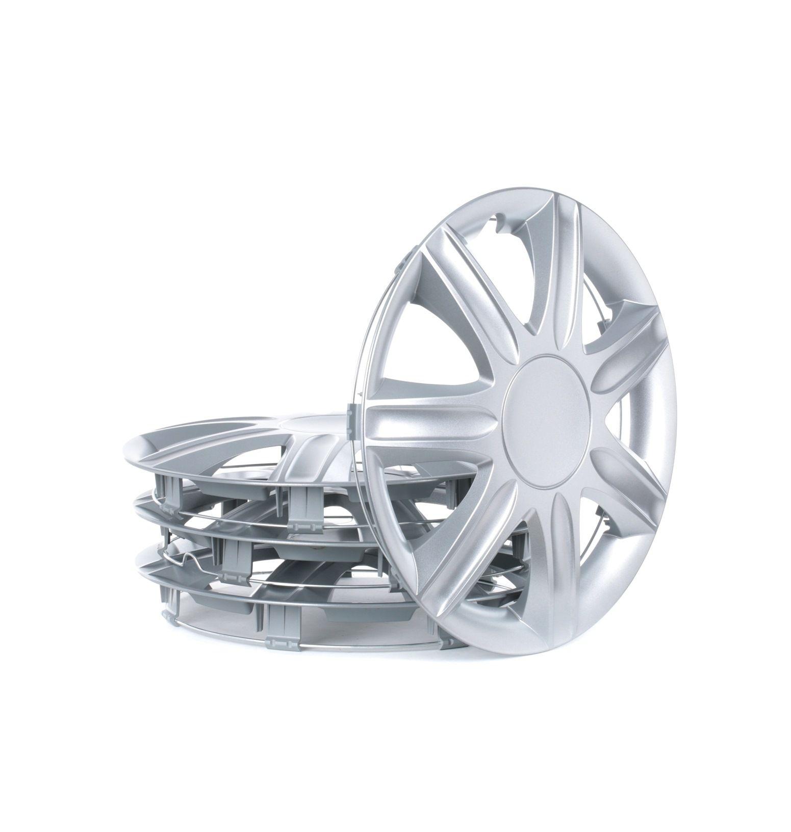Comprare RUBIN 13 LEOPLAST argento, 13 Inch Unità quantitativa: Serie / Kit Copricerchi RUBIN 13 poco costoso
