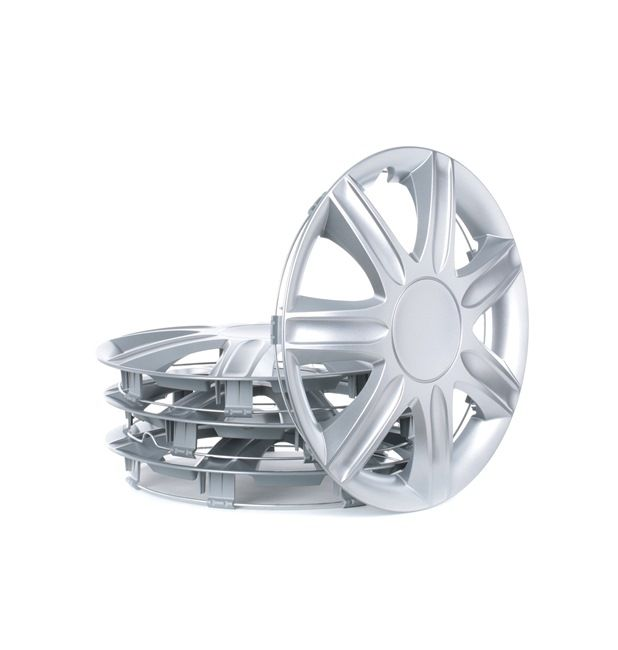RUBIN 13 Hubcaps Silver, 13Inch from LEOPLAST at low prices - buy now!