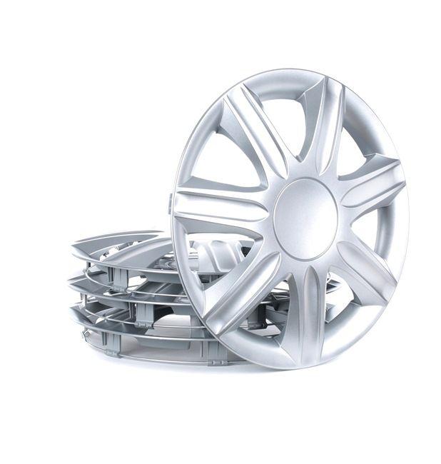 RUBIN 15 Капаци за колела диаметър на колело: 15цол (инч), сребърен от LEOPLAST на ниски цени - купи сега!