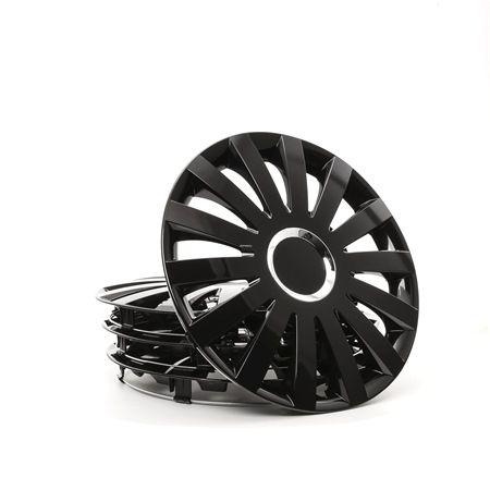 SAIL CZ 16 Okrasni pokrovi platišč crna barva, 16Cola od LEOPLAST po nizkih cenah - kupite zdaj!
