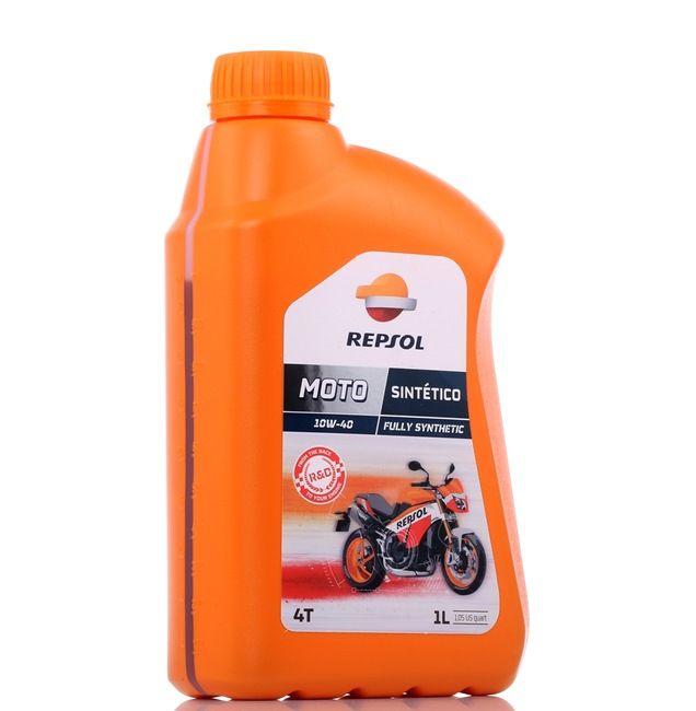 REPSOL MOTO, Sintetico 4T Motoreļļa 10W-40, 1l, Sintētiskā eļļa RP163N51