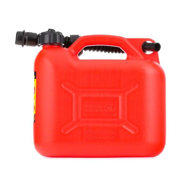 VIRAGE 94-013 Kraftstoffkanister mit Schlauch, -25°C, 50°C, Kunststoff, Volumen: 5l reduzierte Preise - Jetzt bestellen!