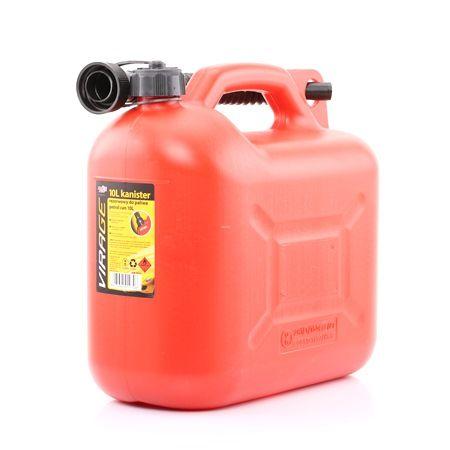 VIRAGE 94-014 Kraftstoffkanister mit Schlauch, Kunststoff, 10l niedrige Preise - Jetzt kaufen!