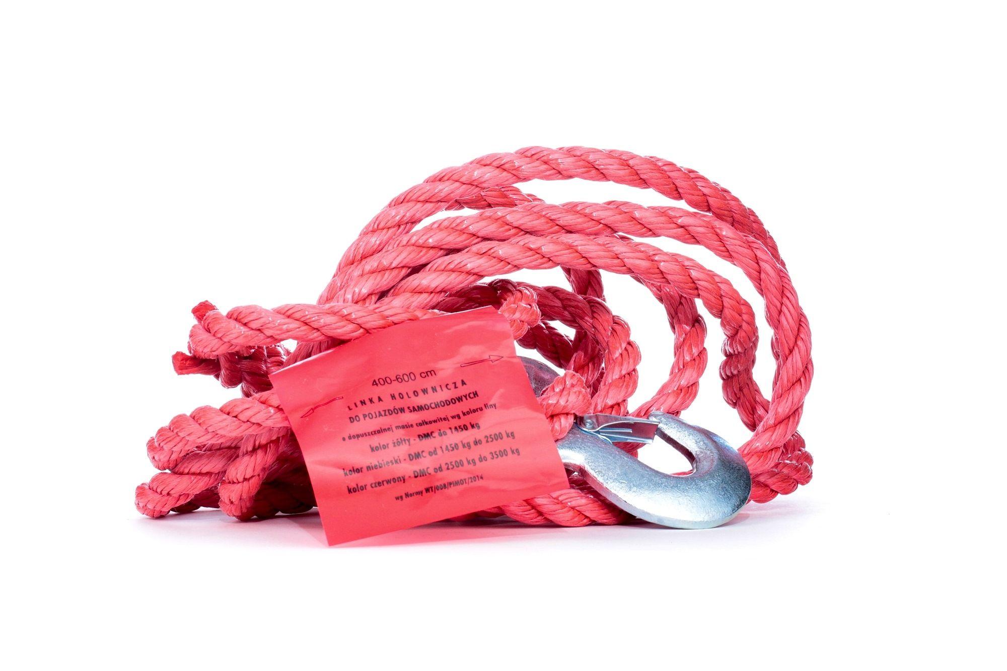 Comprare 94-034 VIRAGE rosso, Portata: 3500kg Corde di traino 94-034 poco costoso