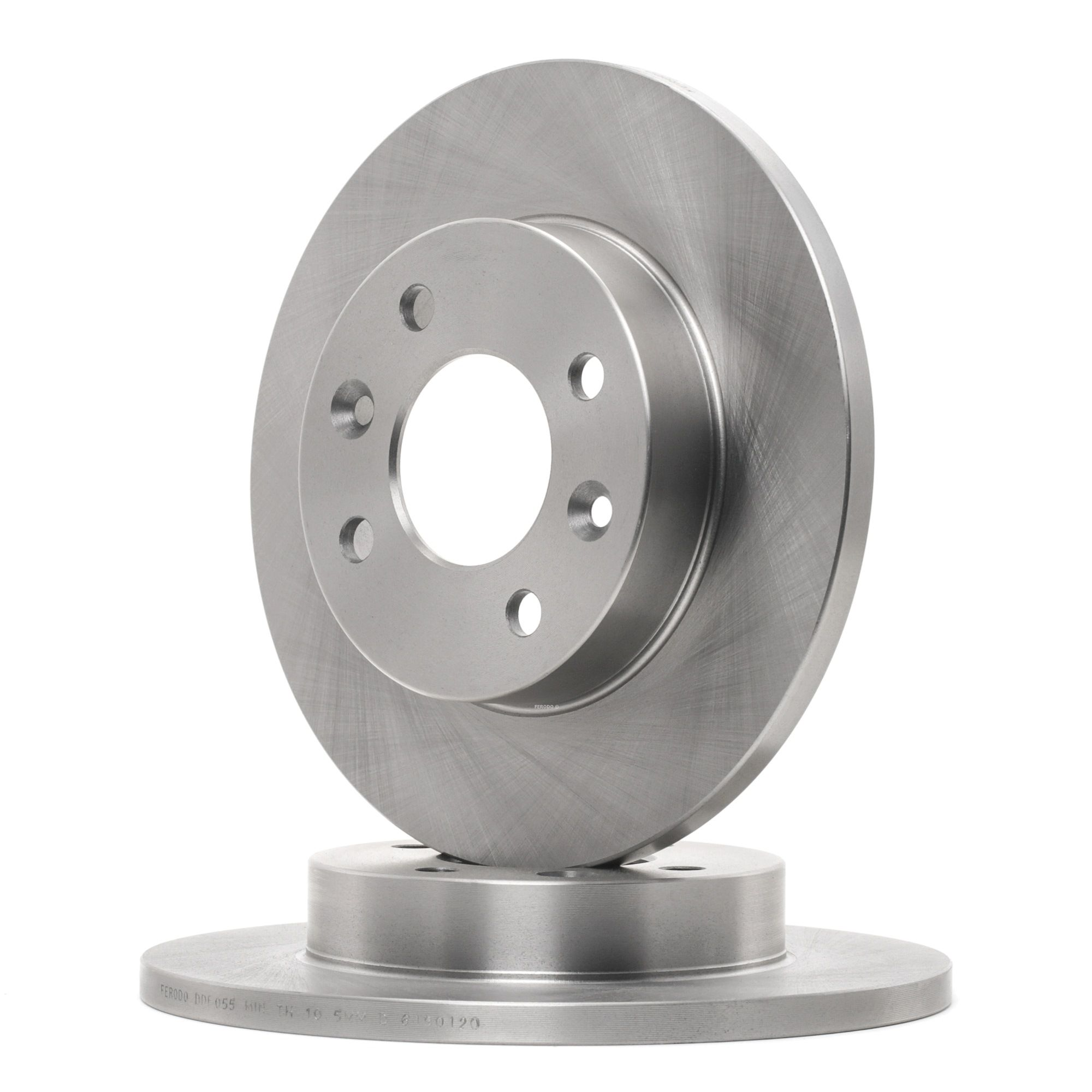 Pirkti DDF055C FERODO PREMIER visiškai, su varžtais Ø: 238mm, angų skaičius: 4, stabdžių disko storis: 12mm Stabdžių diskas DDF055 nebrangu