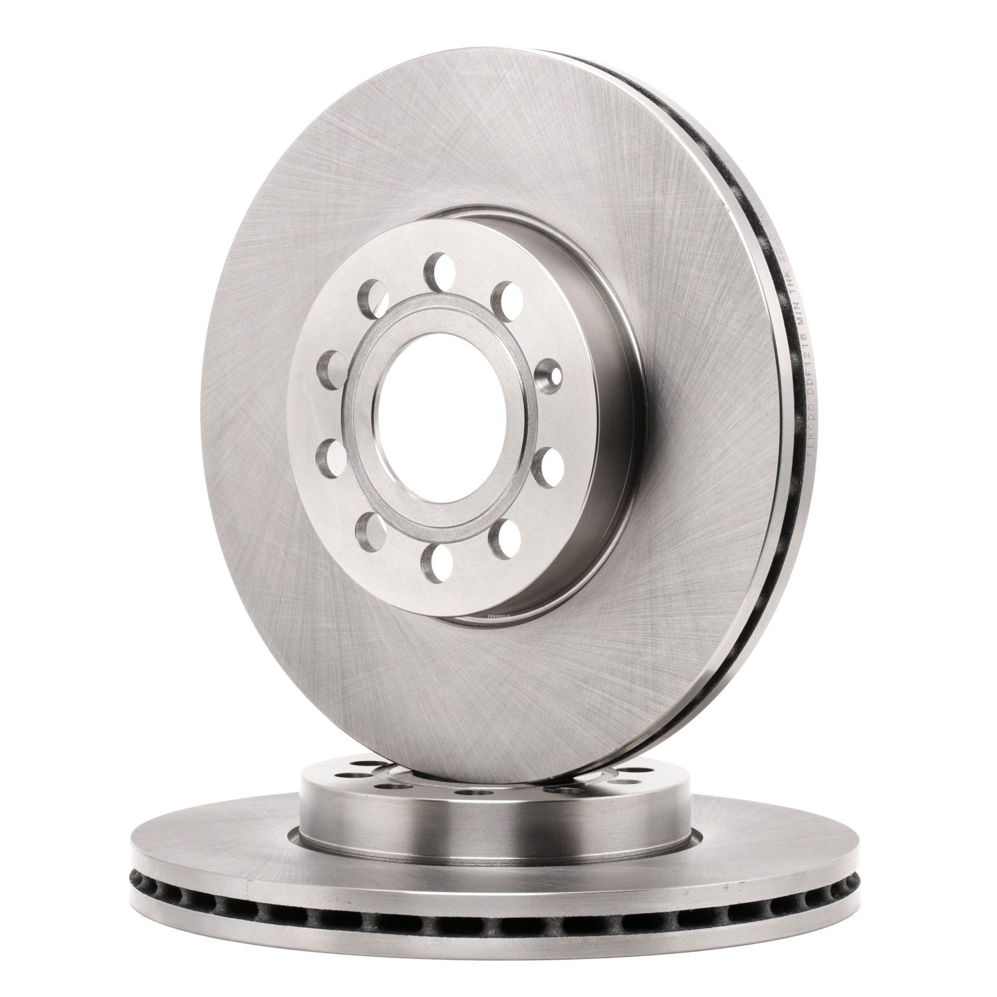 Achetez Disques de frein FERODO DDF1218 (Ø: 288mm, Nbre de trous: 5, Épaisseur du disque de frein: 25mm) à un rapport qualité-prix exceptionnel