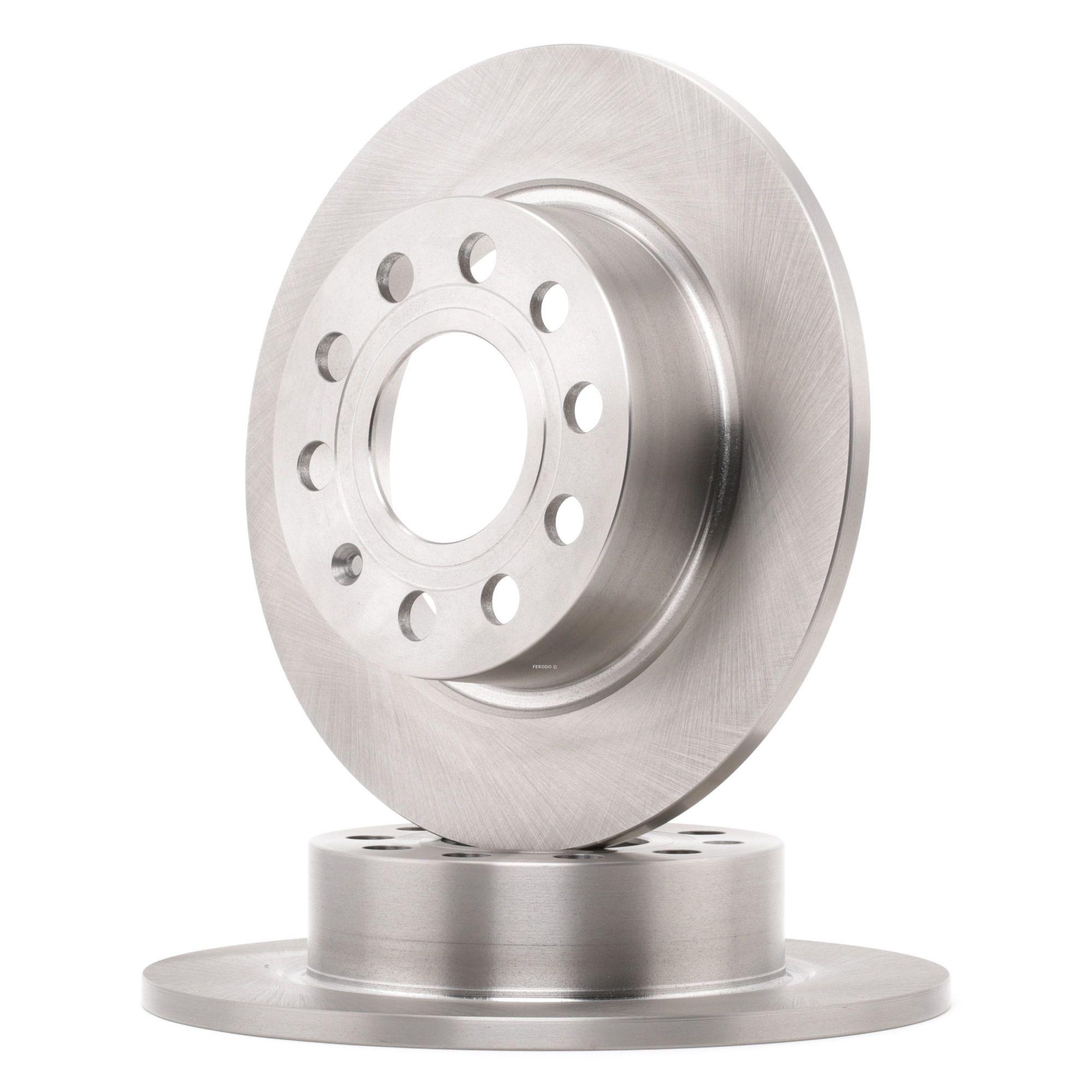 Achetez Disque FERODO DDF1224 (Ø: 255mm, Nbre de trous: 5, Épaisseur du disque de frein: 10mm) à un rapport qualité-prix exceptionnel